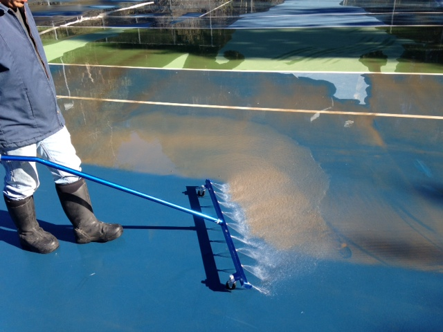 Tennis Court Washing Services Dh Distribution