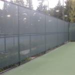 Tuffy Windscreens Installed at Lifetime Tennis in Pleasonton
