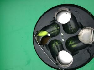 ball jam feed tray